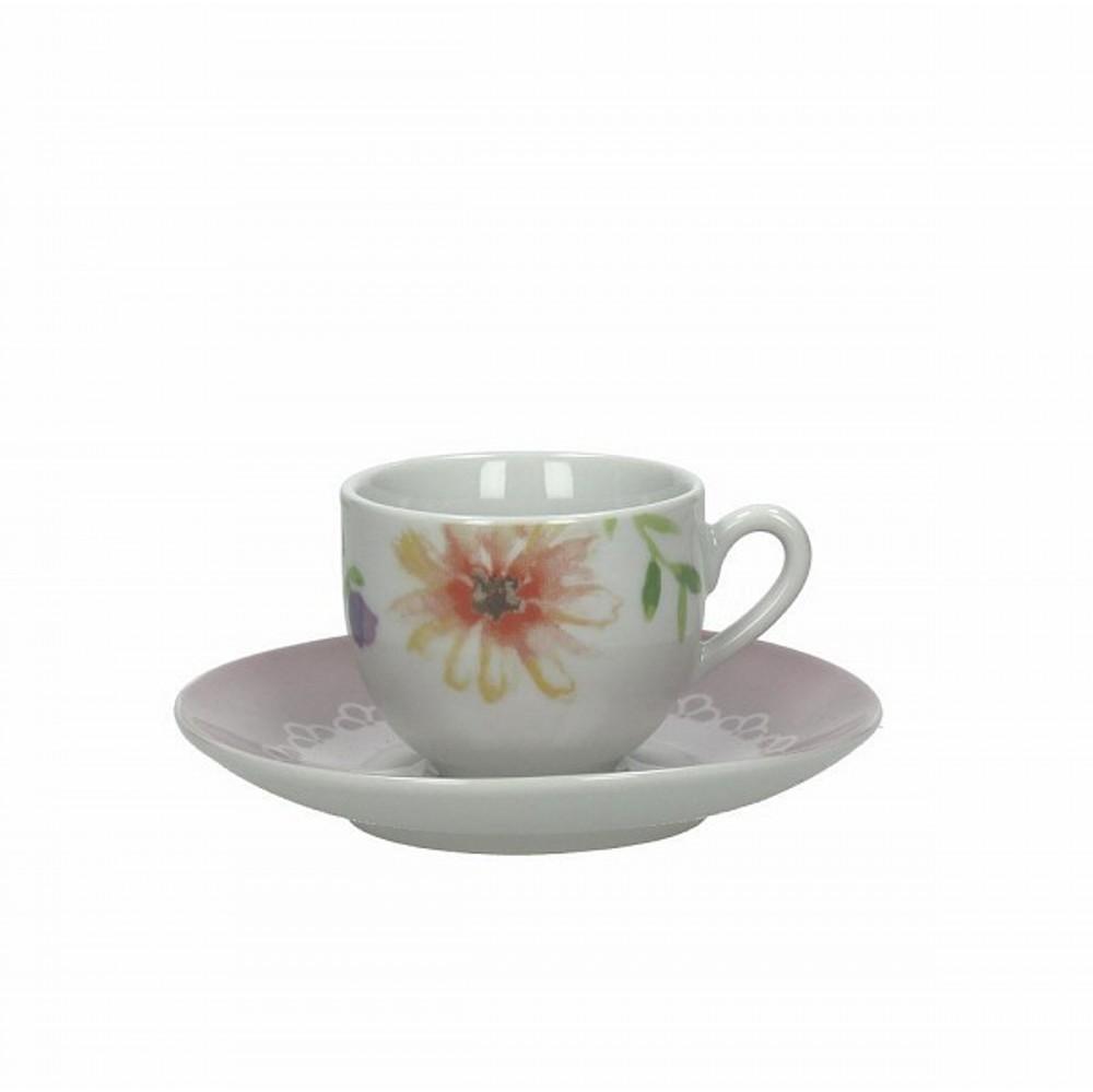 Набор чашек с блюдцами кофейные OLIMPIA ROMANCEЧашка с блюдцем сделана из высококачественного фарфора. Благодаря ее оригинальному дизайну, она станет отличным подарком на любой праздник вашим друзья или близким. Коллекционеры посуды и настоящие ценители по достоинству оценят этот набор.<br>