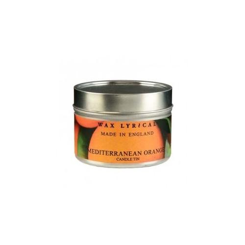 Свеча ароматическая в алюмин.банке Солнечный апельсин 8х5х8 оранжевыйСвеча ароматическая в алюмин.банке Солнечный апельсин от английской компании Wax Lyrical.  Уникальное средство для устранения неприятного запаха. Благодаря технологии Odouraze , которая находит молекулы неприятного запаха, окутывает их и полностью уничтожает. Придаст воздуху Бодрящий аромат апельсина, мандарина и аниса.<br>