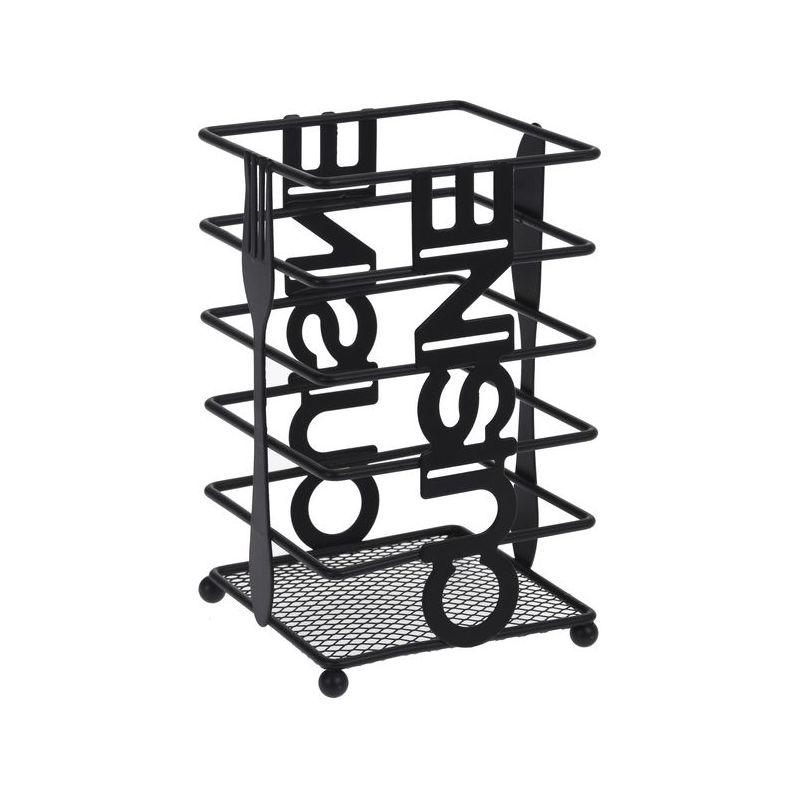 Подставка для столовых приборов 10,4x10,4x16,5 см