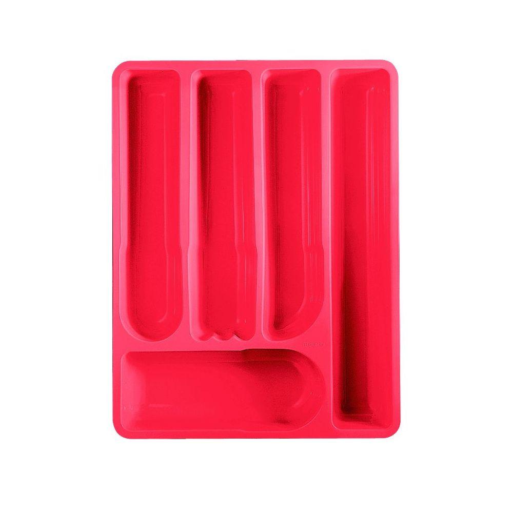 Лоток для столовых приборов MY KITCHEN 40*30*5 5 красный<br>