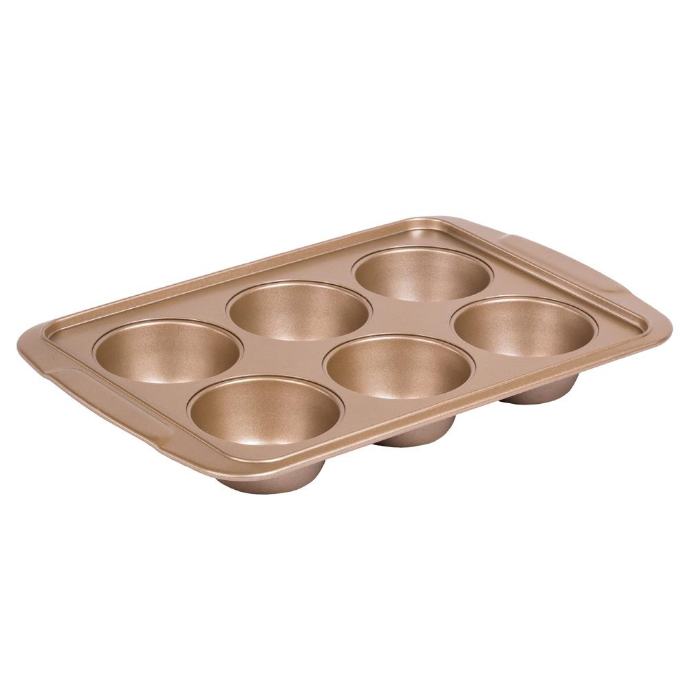 Форма для порционной выпечки  (6 ячеек)Благодаря этой удобной форме для порчионной выпечки вы легко сможете приготовить вкусейшую выпечку. Благодаря этой порционной форме вы можете готовить блюда с различными начинками и вкусами.<br>