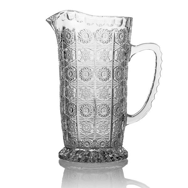 Кувшин StellaDiva производит качественную, стильную хрустальную посуду и изделия из стекла. Кувшин можно применять при сервировке стола, наливая в него самые любимые напитки.<br>