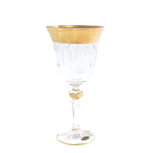 Набор бокалов для белого вина 220 мл Bohemia Max Crystal 6 шт