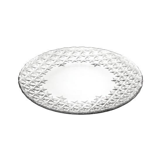 Тарелка GALASSIA 21 смИтальянская мануфактура Vidivi является производителем с мировым именем по производству стеклянных изделий и высококачественной посуды. Внимание к каждой детали и инновации, в сочетании с непревзойдённым итальянским дизайном делают этот бренд уникальным. Тарелки из коллекции GLASSIA хорошо подойдут как для спокойного семейного ужина, так и для ресторанной сервировки. Изысканное оформление тарелок, блеск стекла и удобная форма станут лучшими украшениями Вашего стола. Это маленькая роскошь, доступная каждому, позволит усовершенствовать Ваш стиль жизни, а также представит Вас в необычайно хорошем свете.<br>