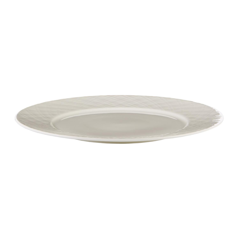 Сервиз столовый 18 предметов ГеометрияНежный и стильный столовый сервиз Геометрия от Magia Gusto выполнен в лучших классических традициях. Он включает в себя восемнадцать предметов, в числе которых  шесть тарелок подстановочных, диаметром 27 см;  шесть обеденных тарелок  диаметром 20 см и шесть суповых тарелок диаметром 22 см. Материал исполнения – фарфор. Элементы сервиза выполнены в белом глянцевом цвете, традиционной круглой формы. Он прекрасно подойдет для приема гостей или ежедневного использования.<br>
