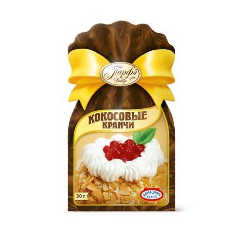 Стружка кокосоваяразноцветная(кранчи)Продукция от Парфэ - превосходные приправы, смеси и пищевые добавки, которые подарят вашим блюдам незабываемый вкус и аромат! Кокосовая стружка (кранчи) непременно пригодится вам для ваших кулинарных экспериментов.<br>