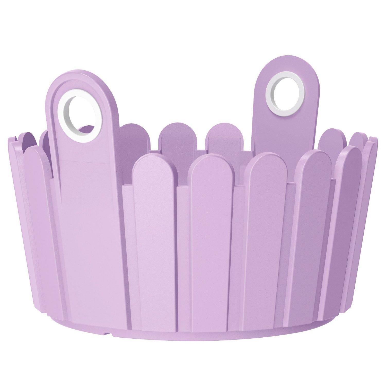 Кашпо LANDHAUS d26 см фиолетовое