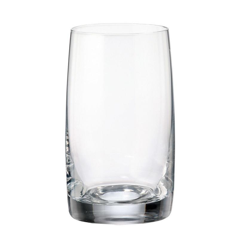 Набор стаканов для воды 6 шт. 250 мл Bohemia Crystal Pavo/Ideal