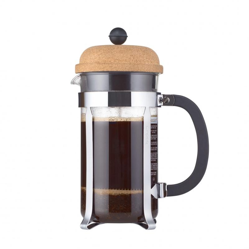 Кофейник с прессом 1 л Bodum Chambord