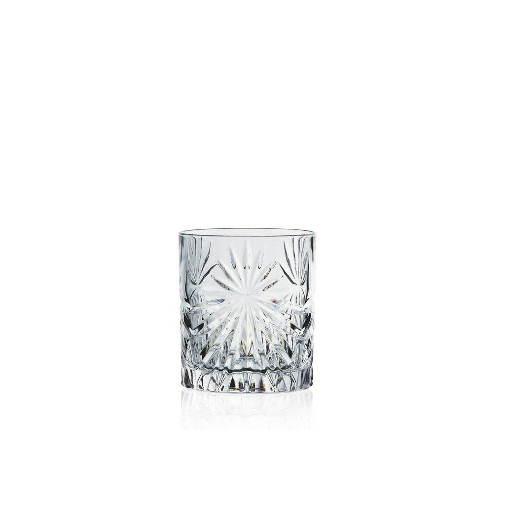 Набор стаканов для виски 360 мл. 6 шт. OASISНабор стаканов для виски Оазис придется по вкусу истинным ценителям этого крепкого и благородного напитка. Высокий стакан без ножки оснащен устойчивым толстым основанием и изготовлен из прочного стекла. Изящные грани бокала красиво преломляют свет, создавая праздничное настроение и украшая любое торжество. Набор состоит из шести предметов и идеально подходит для сервировки стола дома, а также для использования в кафе, барах и ресторанах. Набор стаканов для виски Оазис расскажет гостям о вашем безупречном вкусе и чувстве стиля, а также позволит максимально раскрыть аромат и вкус напитка.<br>