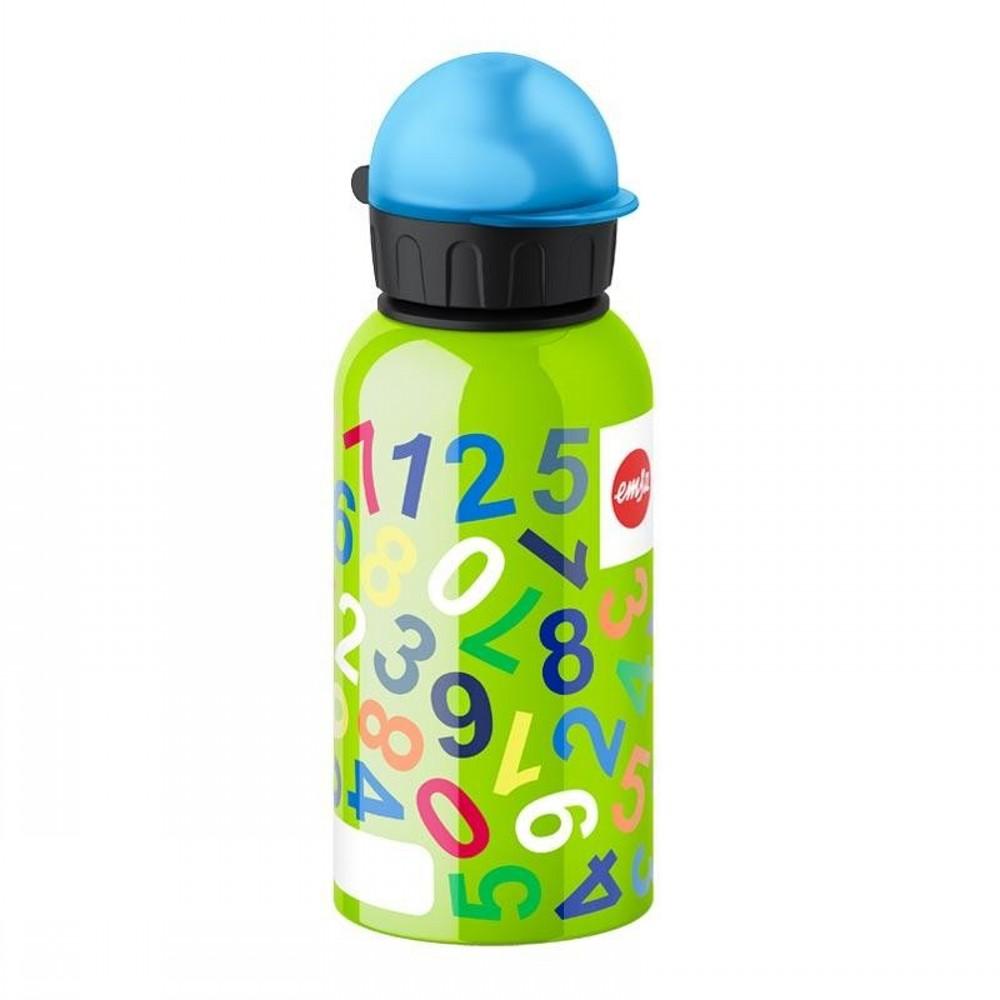 Фляжка для напитков 0,4 л. KIDS NumbersФляжка для напитка изготовлена из высококачественной нержавеющей стали. Она отлично подойдет для любого напитка. Ваш ребенок сможет взять свой напиток с собой на учебу или просто в дорогу. Она на 100% экологически безопасна.<br>