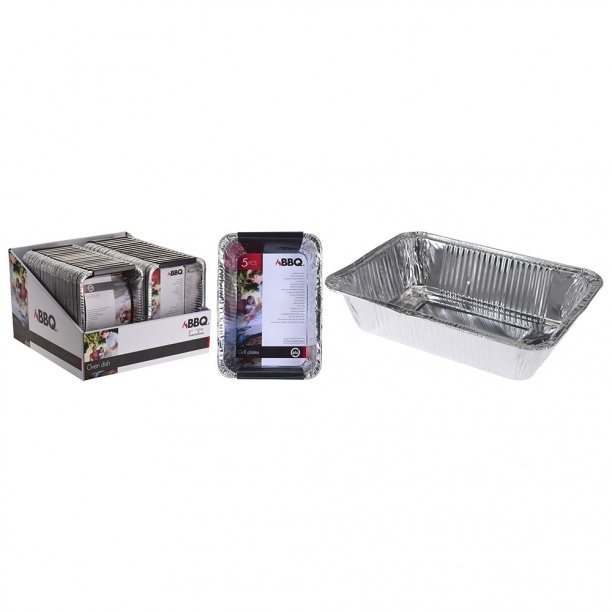 Набор лотков алюминиевых 5 шт Excellent Houseware