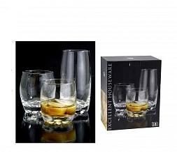 Набор стаканов 18 шт ( 6 х275 мл, 6 х 250 мл, 6 х 375 мл)<br>