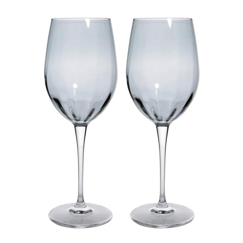 Набор бокалов для красного вина 2 шт 470 мл Le Stelle Monalisa серый