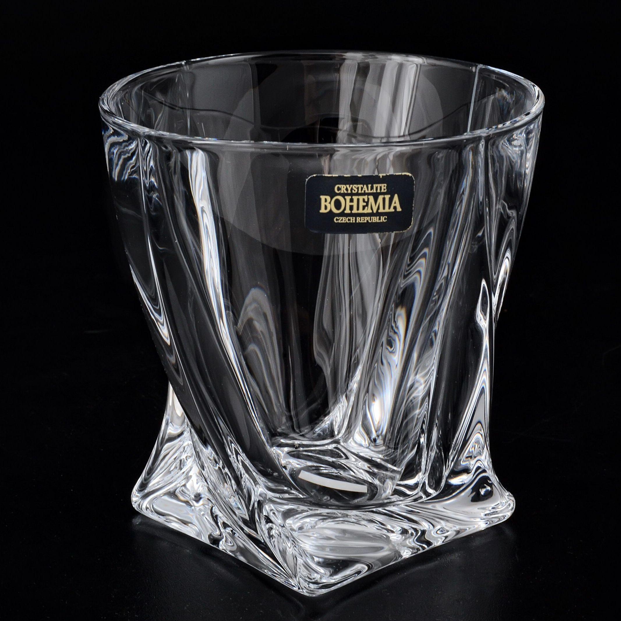 Набор стаканов для виски 340 мл. 6 шт. QUADRO
