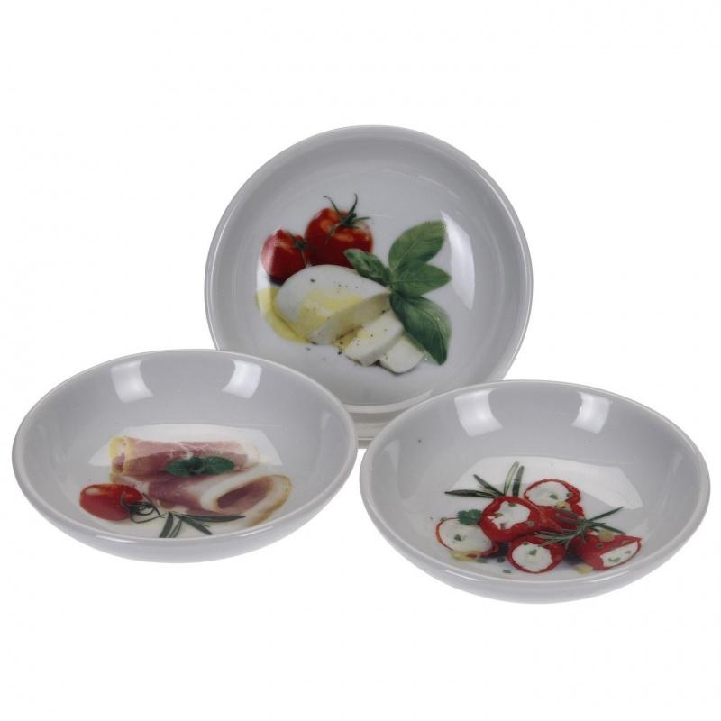 """Набор фарфоровых салатников 3 шт. 10,5 см """",Италия"""", Excellent Houseware"""
