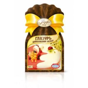 ГлазурьшоколаднаябелаяГлазурь шоколадная используется для глазирования мучных и кондитерских изделий, изготовления декора и фигурок.<br>