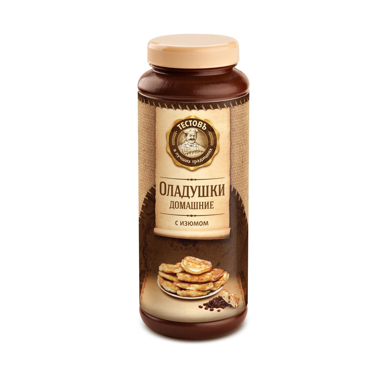 СмесисухиеОладушкидомашниесизюмомПродукция от Тестовъ - превосходные смеси, которые помогут вам приготовить хлебобулочные изделия, которыми вы удивите своих близких. Попробуйте сухую смесь Оладушки для ваших кулинарных экспериментов.<br>