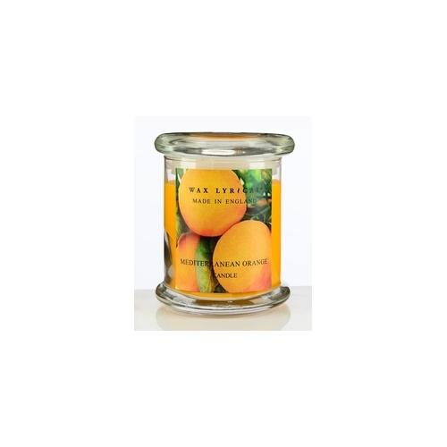 Свеча ароматическая в стекле Солнечный апельсин большая 8х12х8 оранжевыйСвеча ароматическая в стекле Солнечный апельсин большая от английской компании Wax Lyrical.  Уникальное средство для устранения неприятного запаха. Благодаря технологии Odouraze , которая находит молекулы неприятного запаха, окутывает их и полностью уничтожает. Придаст воздуху Бодрящий аромат апельсина, мандарина и аниса.<br>