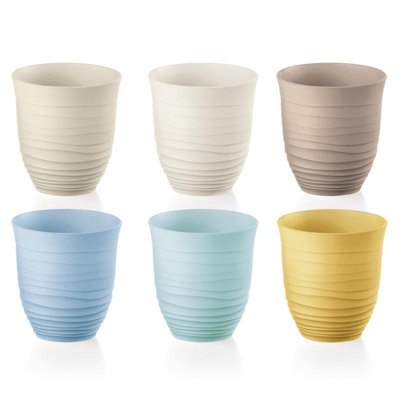Набор стаканов 6 шт. 350 мл Guzzini Tierra разноцветный