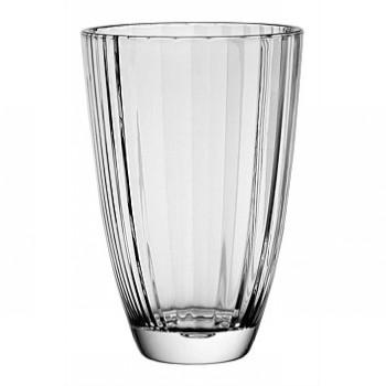 Стакан для напитков ACCADEMIA 360 млБлагодаря своему необычному рисунку, любой напиток в этом стакане будет выглядить еще более привлекательным и вкусным. Прочное стекло позволяет постоянно использовать их, не боясь за то, что он может с легкостью выскользнуть из рук и разбиться. Стаканы отлично украсят любую вашу вечеринку.<br>