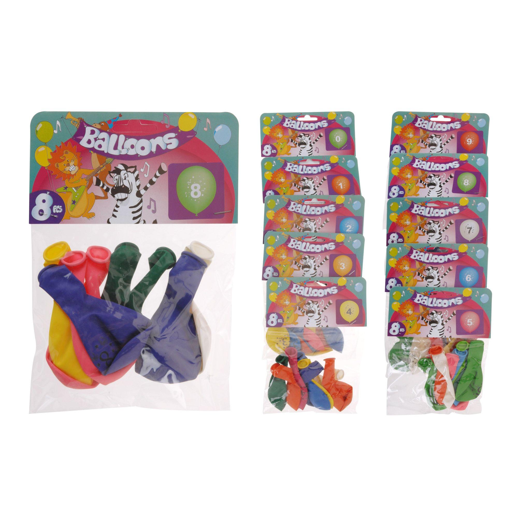 Набор шаров надувных (8шт)Даже если у вашего ребенка много игрушек, воздушному шарику он обязательно обрадуется. Чтобы развеселить ребенка, достаточно нескольких штук, поэтому можно приобрести набор шаров надувных (8 шт) торговой марки Экселент Хаусвейр. В нем предусмотрены шары разноцветные, достаточно крупные, но не предназначенные для моделирования.Из небольшого количества шаров не получится создать сложную композицию, но собрать в букет, эффектно запустить в небо или декорировать маленькую комнату вполне возможно. Это позволит сделать обычное помещение более праздничным, поднять настроение виновнику торжества. Если в рамках праздника проводятся веселые конкурсы, то латексный воздушный шарик может выступить в качестве подарка победителю или участнику.<br>