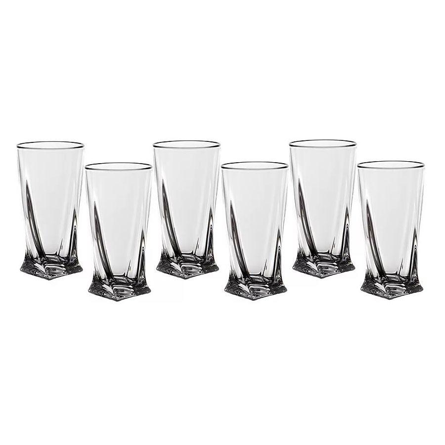 Набор стаканов для воды 350 мл. 6 шт. QUADRO