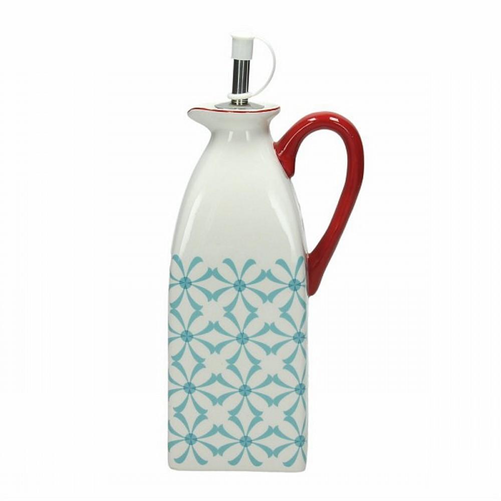 Емкость для масла/уксуса 0,5 л  DOLCE CA KUB AZЕмкость для масла и уксуса сделана из керамики выского качества. Итальянские производители позаботились не только о качестве изделия, но и о дизайне. Оригинальный дизайн и лаконичная форма позволит этому элементу посуды отлично вписаться в любой ваш кухонный интерьер.<br>