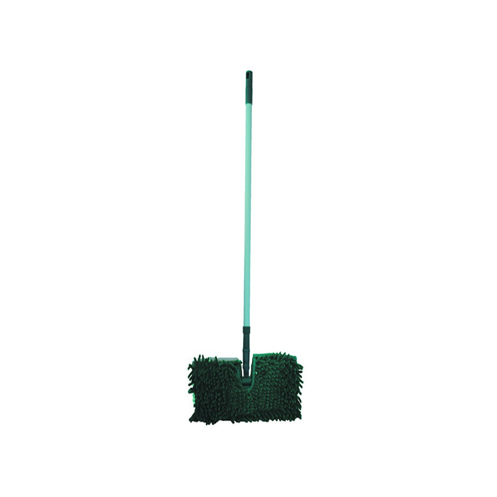 ШВАБРА ДВОЙНОЙ ЭФФЕКТКомпания Inter-Vion появилась на рынке в 1991 году. Сейчас она является одним из крупнейших предприятий по изготовлению косметической продукции и товаров для дома. Швабра Двойной эффект GREEN LINE легко удаляет загрязнения на полу. Это очень полезная вещь в доме. Хорошо подходит для сухой и влажной уборки. Имеет красивый дизайн. После использования ее достаточно промыть водой и высушить.<br>