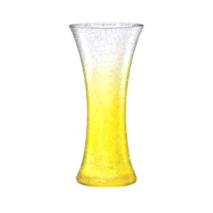 Ваза желтая 17,9 см Bohemia фото