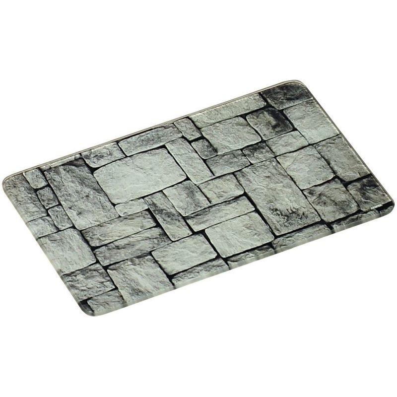 "Доска разделочная ""Камни"" 30х20х0,7 см стекло"