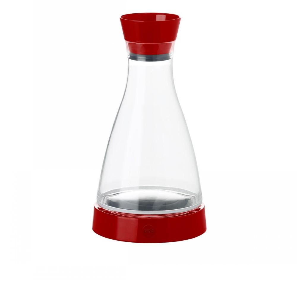Графин с крышкой Flow, 1 л.Графин с крышкой фирмы Emsa отлично подойдет для прохладительных напитков. В комплект входит охлаждающий элемент, который способен держать температуру до 4 часов. Графин подойдет для охлаждения соков, морсов, воды.<br>