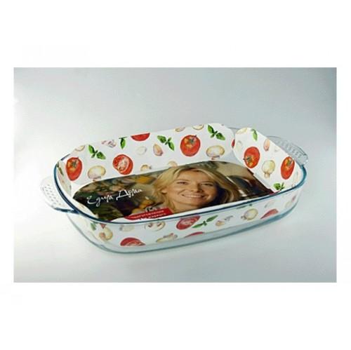 Форма стекл ТМ Едим Дома прямоугольнаяПрямоугольная форма Едим дома изготовлена из качественного термостойкого стекла,что обеспечивает равномерное распределение тепла. Будет идеальным аксессуаром для любителей домашней выпечки. Имеет большой объем, что позволит приготовить блюда для большой семьи.<br>