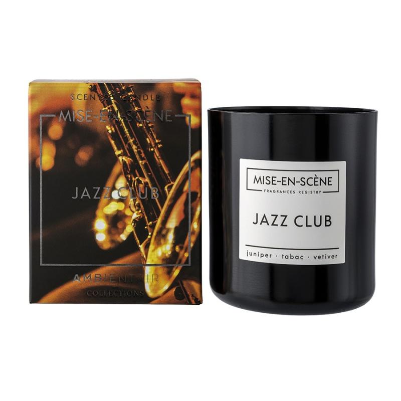 Свеча ароматическая mise en scene jazz club