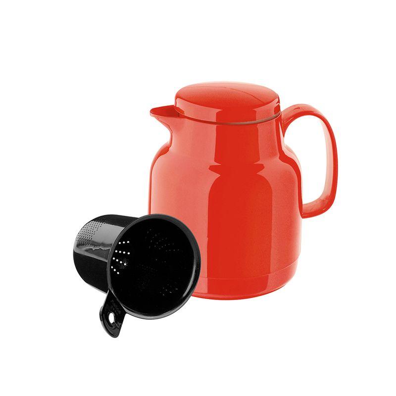 Термос-чайник Mondo+Sieve с ситечком красный