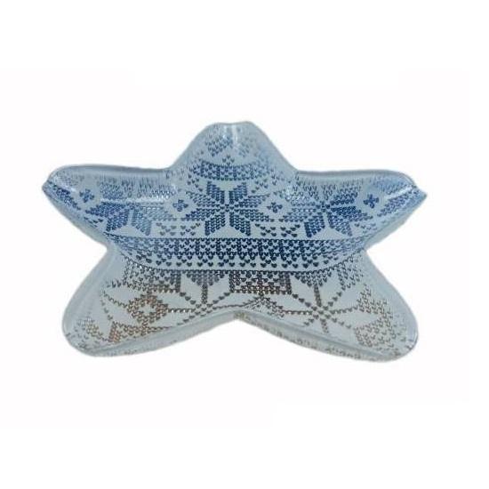 Тарелка Звезда Санты 23 см Akcam