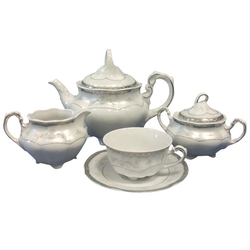 Сервиз чайный 6 персон/15 предметов Bolero Cmielow E361