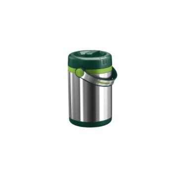 Термос для ланча 1,2 л, зеленый MOBILITYНемецкий бренд EMSA дарит жителям мегаполисов прекрасные аксессуары для дома и загородных домов, которые всегда радуют покупателей своим ярким и стильным дизайном и функциональностью. Термос BELL это очень удобный чайничек, который позволит всегда насладиться горячими напитками. Отличный подарок, который будет всегда ассоциироваться теплотой и любовью. Данная модель выполнена в нежном кремовом цвете.<br>
