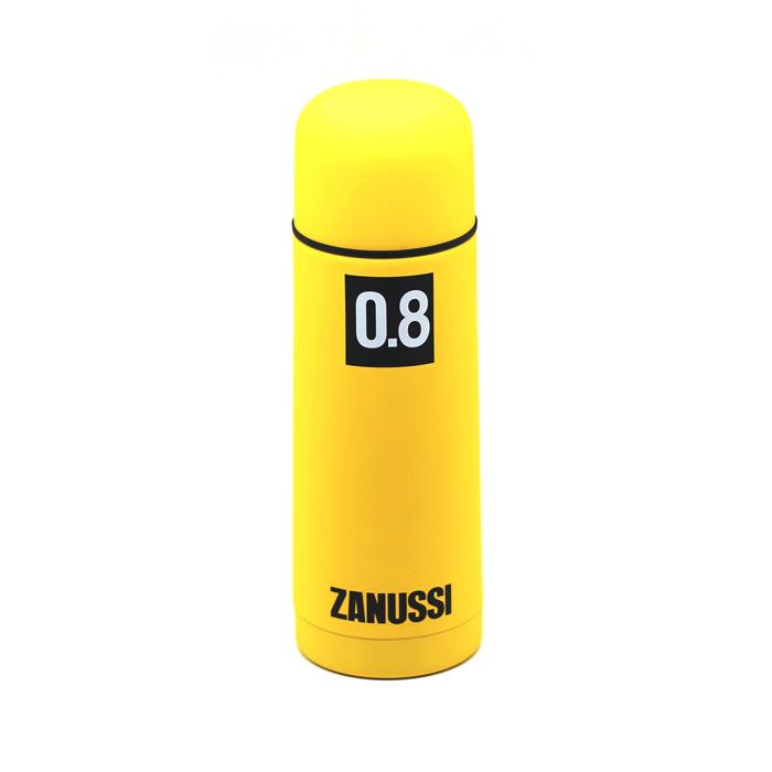 Термос 800 мл Zanussi желтый