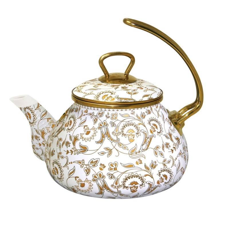 Чайник с золотой ручкой 2,2 л Anna Manelis Империя