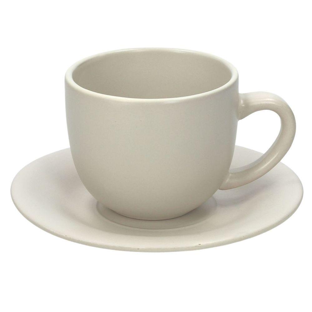 Набор чашек чайных 250 мл 6 шт RUSTICAL BEIGE MATTНабор чашек чайных 250 мл 6 шт RUSTICAL BEIGE MATT<br>