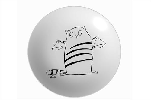 Тарелка Знак зодиака Весы 250 ммТарелка Весы от МАТЕО - это посуда с авторским декором. Такая необычная посуда может быть оригинальным украшением стола, отличным вариантом для сервировки и просто потрясающим подарком.<br>