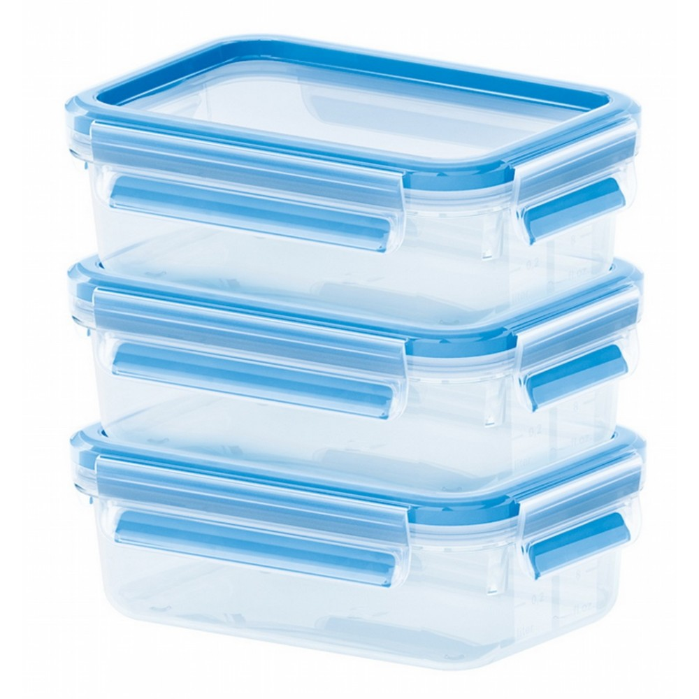 Набор контейнеров ?KO CLIP &amp; CLOSE 1,2 лНабор пищевых контейнеров разного объема отлично подойдет для того, чтобы взять вашу любимую еду на природу или обед на работу. Контейнеры подходят для хранения продуктов в холодильнике, а также для их заморозки. Герметичная крышка на заклепках надежно защитит ваши продукты. Здоровое питание это просто!<br>