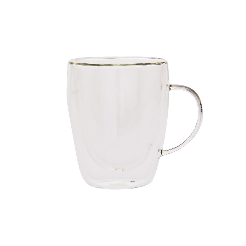 Чашка стеклянная с двойными стенками 220 мл.Чашка стеклянная с двойными стенками – лучший выбор для комфортного и уютного чаепития. Модель изготовлена из высокопрочного усиленного стекла и способна прослужить в течение длительного времени. Двойные стенки с тонкой воздушной прослойкой между ними эффективно сохраняют изначальную температуру напитка. Кружка может использоваться для сервировки как горячих, так и холодных напитков, при этом внешняя поверхность будет иметь комфортную комнатную температуру. Простой и лаконичный дизайн подходит для использования дома, в офисе, для кафе и ресторанов. Чашка стеклянная с двойными стенками оптимальна для чая, кофе и других напитков.<br>
