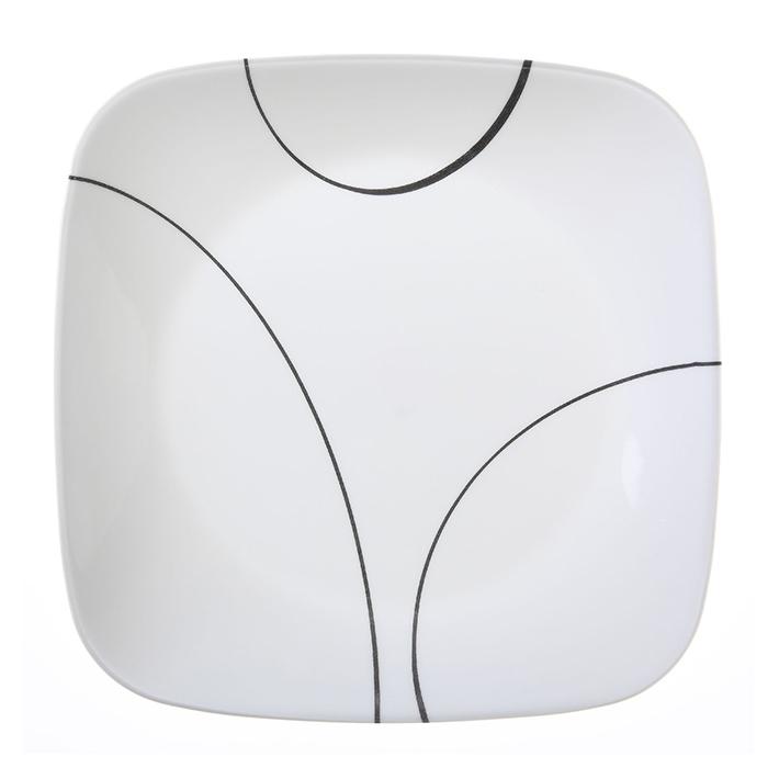 Тарелка закусочная Corelle Simple Lines 22 см