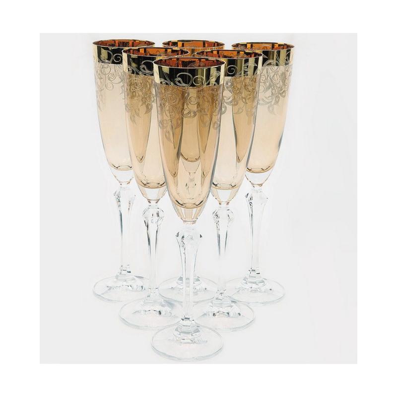 Набор бокалов для шампанского 6 шт 200 мл Elisabeth