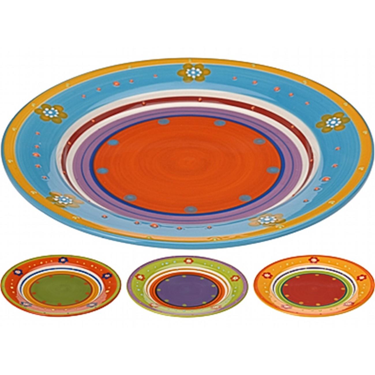 ТарелкаСервировка<br>Excellent Houseware производит посуду и различные предметы для дома. Тарелка - аксессуар повседневного использования. Хорошая тарелка - качественная, стильная, и помимо своей основной функции еще и доставляет эстетическое удовольствие. Внимание! Выбрать цвет заранее не представляется возможным.<br>