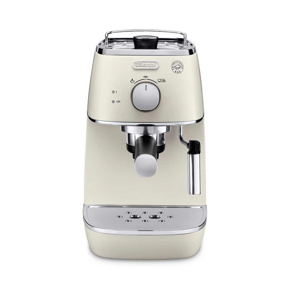 Кофеварка рожковая ECI341.W кофеварка эспрессо delonghi eci341 white