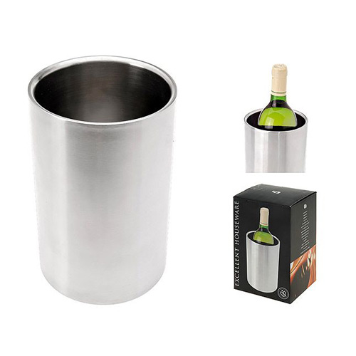 Ведро д/охлаждения вина 12х18 смведёрко для охлаждения вина, диам. 12х18 см<br>
