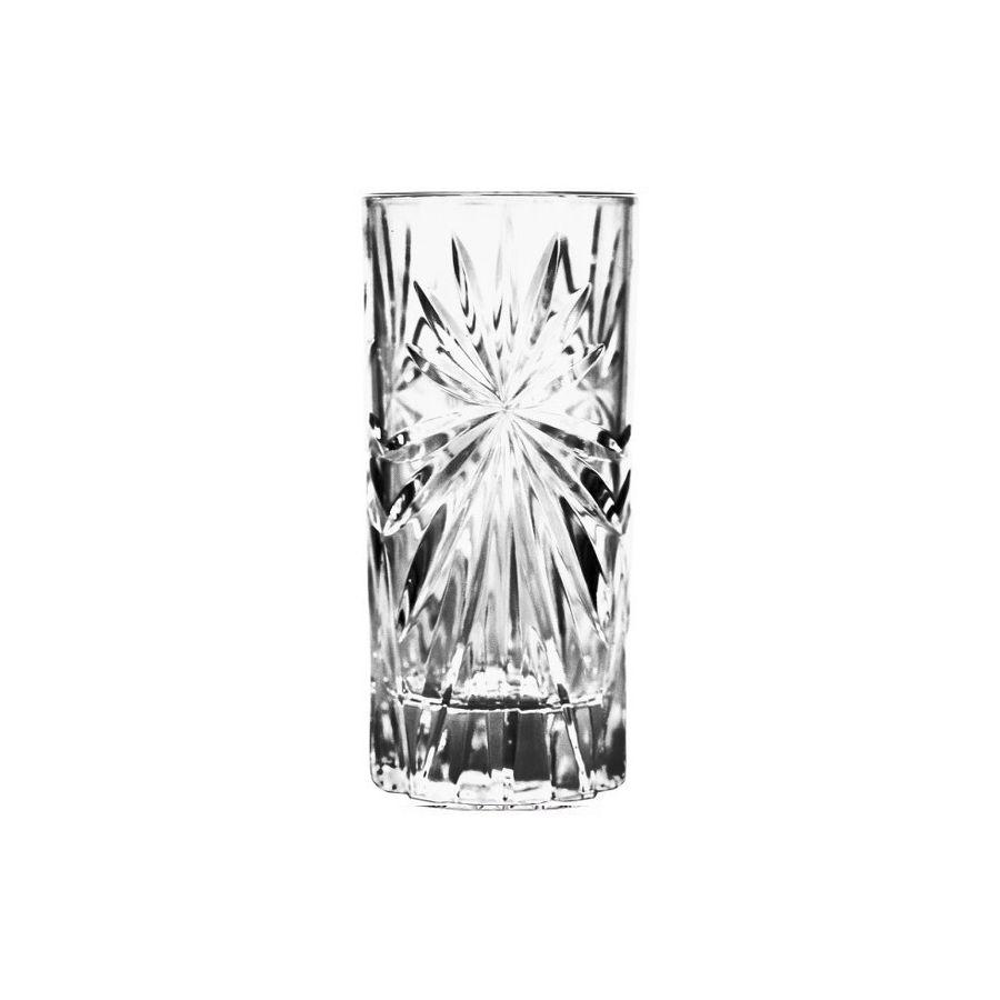 Набор стаканов д/виски 130 мл 6 шт OASISНабор стаканов для виски Оазис придется по вкусу истинным ценителям этого крепкого и благородного напитка. Высокий стакан без ножки оснащен устойчивым толстым основанием и изготовлен из прочного стекла. Изящные грани бокала красиво преломляют свет, создавая праздничное настроение и украшая любое торжество. Набор состоит из шести предметов и идеально подходит для сервировки стола дома, а также для использования в кафе, барах и ресторанах. Набор стаканов для виски Оазис расскажет гостям о вашем безупречном вкусе и чувстве стиля, а также позволит максимально раскрыть аромат и вкус напитка.<br>